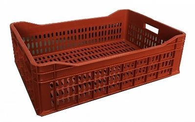 Large 51 Litre Ventilated Plastic Stacking Food Container Produce Crate