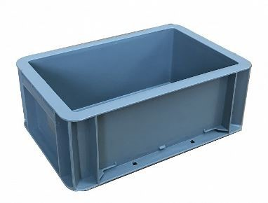 USED Heavy Duty 4 Litre Small Stacking Plastic Euro Container Box