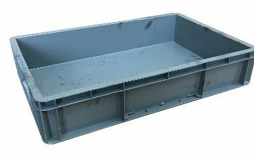 USED Heavy Duty 23 Litre Stacking Plastic Euro Container Box