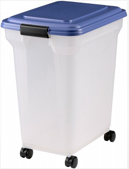 Clear Plastic Storage Food Catering Bin