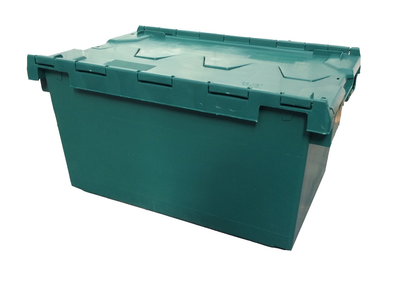 80 Litre XL Stack/Nest Attached Lid Container