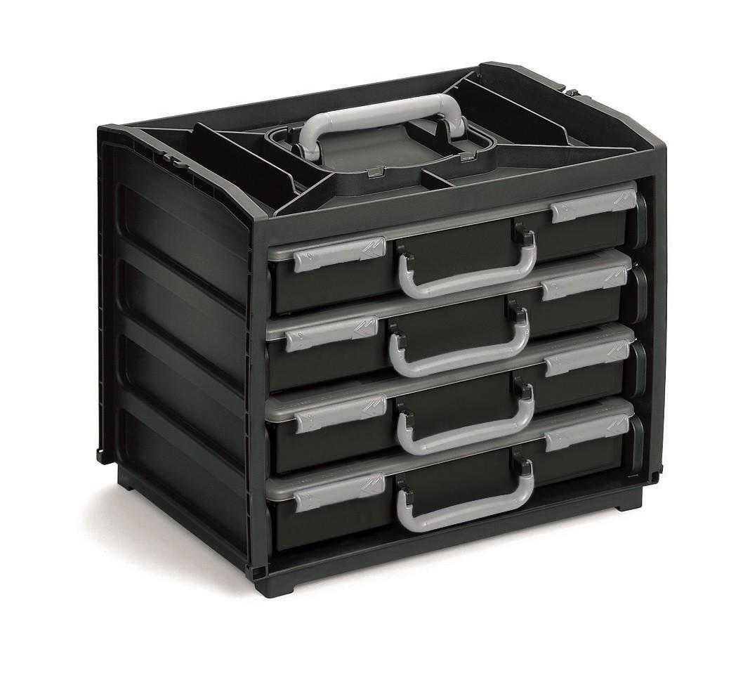 RAACO Handybox - Portable Small Parts Assorter Case ...