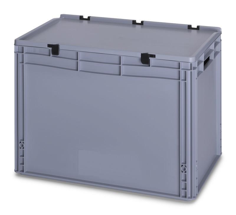 88 Ltr Lidded European Standard Plastic Container