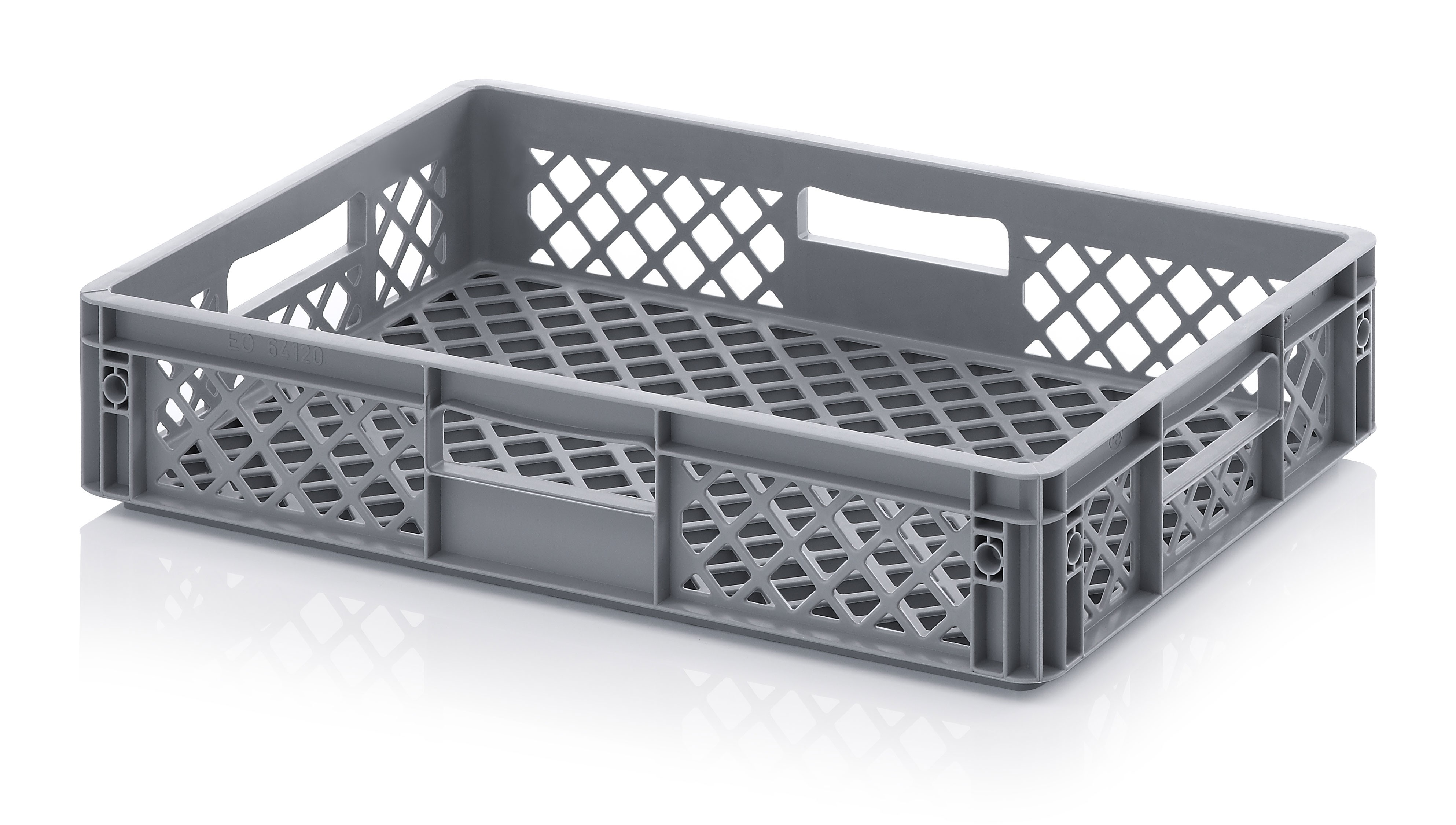 22 Ltr Perforated Euro Plastic Stacking Container