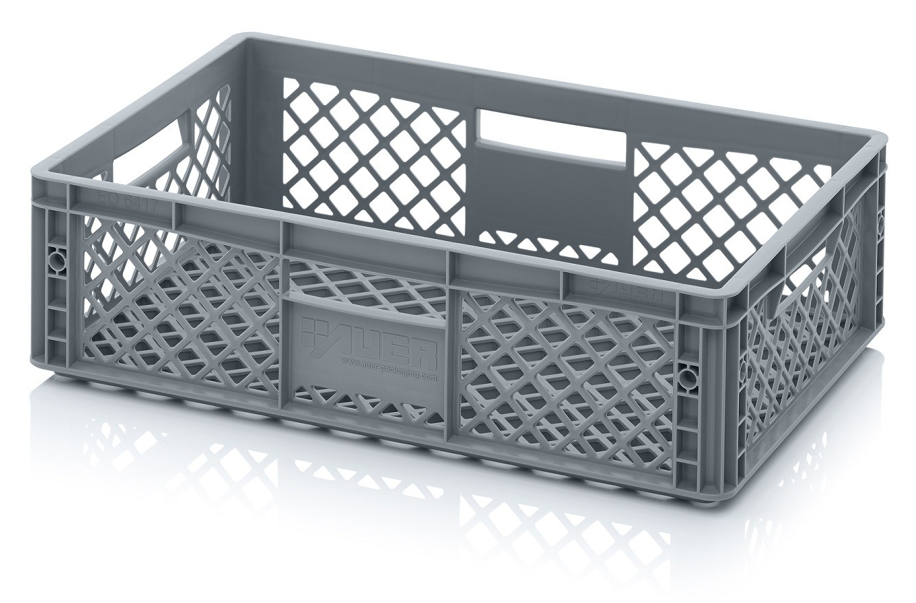 33 Ltr Perforated Euro Plastic Stacking Container