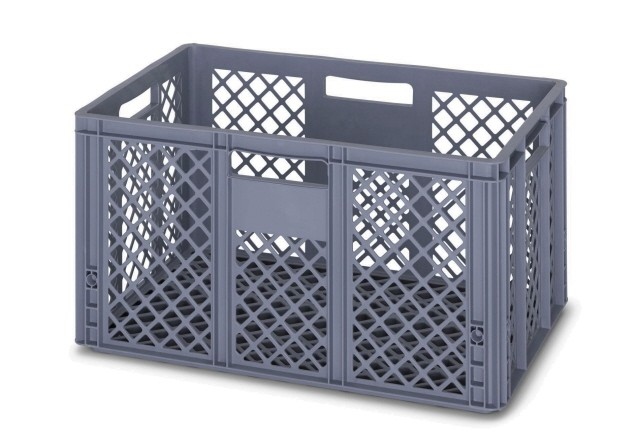 66 Ltr Perforated Euro Plastic Stacking Container