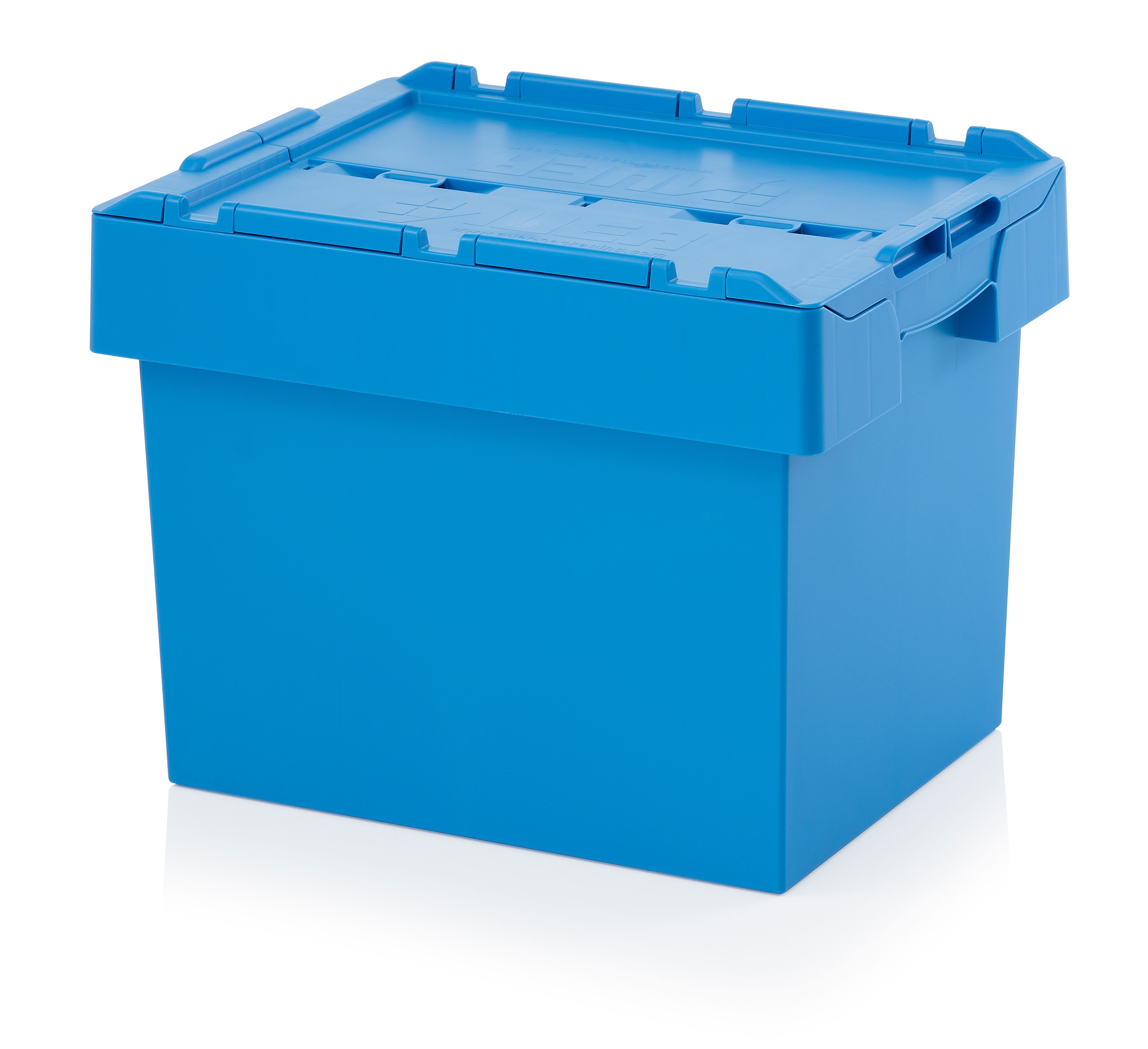 70 Ltr Stack/Nest Attached Lid Container/Storage Box