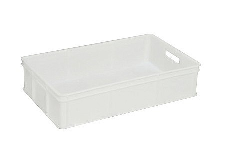 50 Litre Solid Plastic Stacking Confectionery Bakery Tray